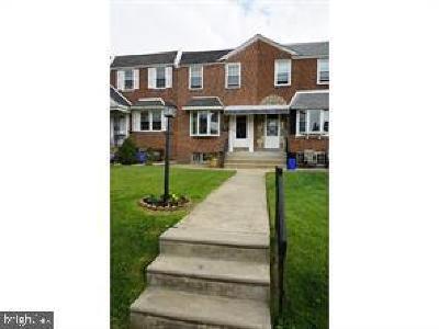 Philadelphia County Townhouse For Sale: 3113 Disston Street