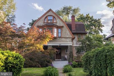 Mt Airy (East), Mt Airy (West) Single Family Home For Sale: 6820 Quincy Street