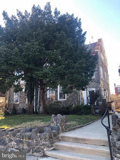 Philadelphia Multi Family Home For Sale: 846 N 63rd Street