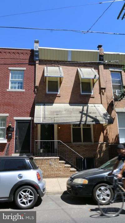 Philadelphia County Townhouse For Sale: 1949 S 11th Street