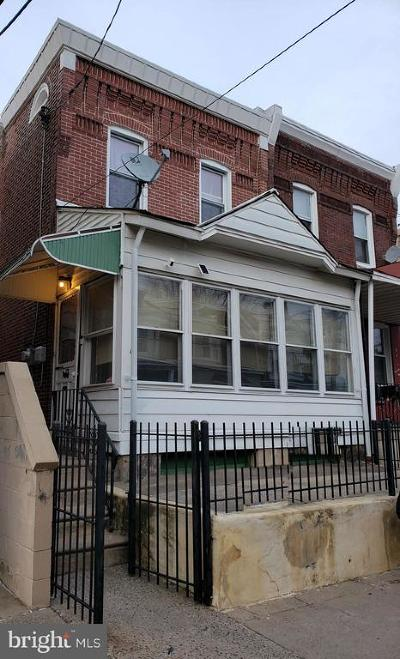 Philadelphia Single Family Home For Sale: 1615 Wakeling Street