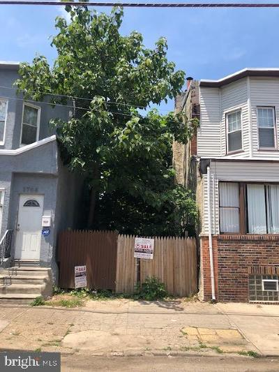 Point Breeze Residential Lots & Land For Sale: 1706 S 23rd Street