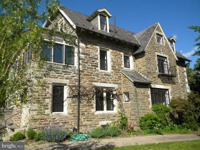 Philadelphia Single Family Home Active Under Contract: 107 E Moreland Avenue
