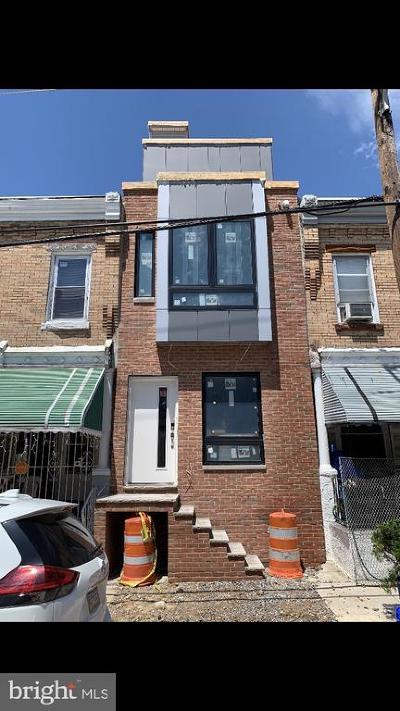 University City Townhouse For Sale: 5127 Hadfield Street