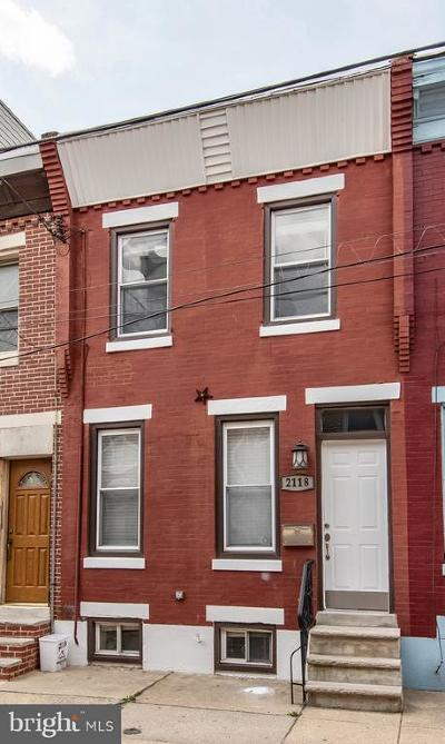 Point Breeze Townhouse For Sale: 2118 Latona Street