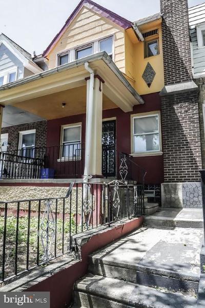 Philadelphia Townhouse For Sale: 6602 N 20th Street
