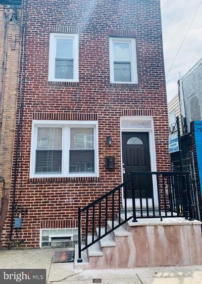 Point Breeze Townhouse For Sale: 2344 Dickinson Street