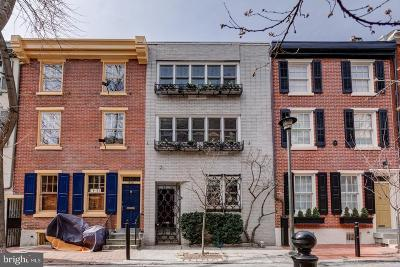 Rittenhouse Square Townhouse For Sale: 316 S Smedley Street