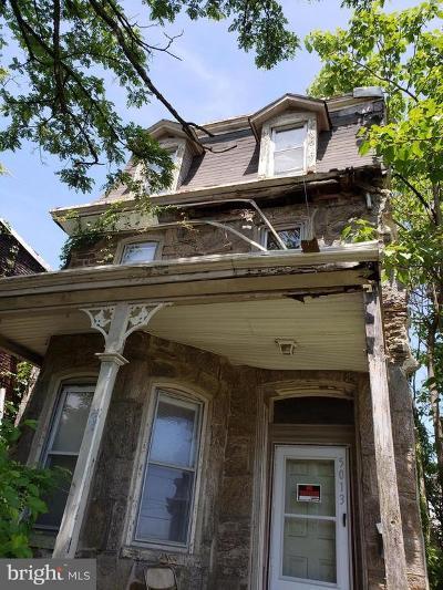 Germantown Single Family Home For Sale: 5013 Greene Street