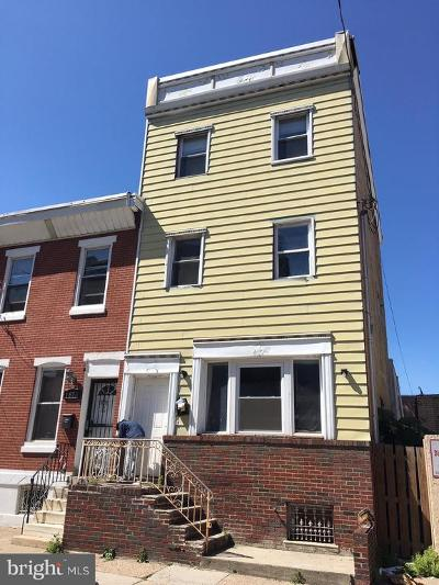 Point Breeze Townhouse For Sale: 1811 Wharton Street