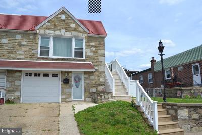 Philadelphia Single Family Home For Sale: 8214 Colfax Street