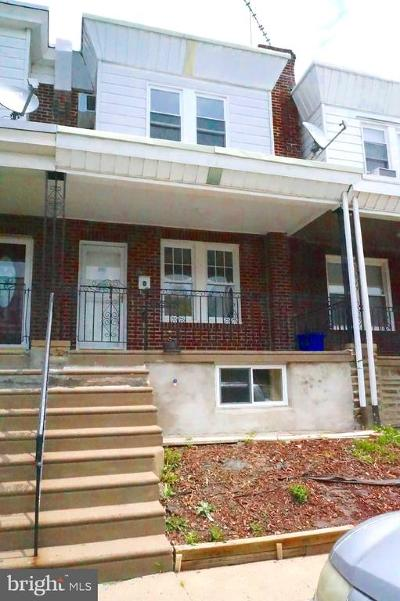 Philadelphia County Townhouse For Sale: 4053 Higbee Street