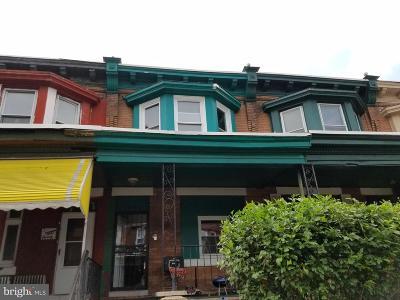 Philadelphia County Townhouse For Sale: 2822 N Croskey Street