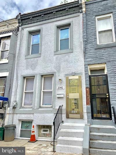 Philadelphia PA Townhouse For Sale: $259,000