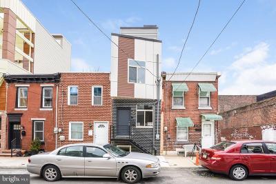 Philadelphia County Townhouse For Sale: 2145 E Albert Street