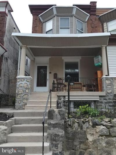 Philadelphia PA Single Family Home For Sale: $249,900