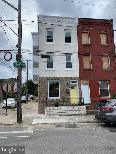 Brewerytown Townhouse For Sale: 2700 W Oxford Street