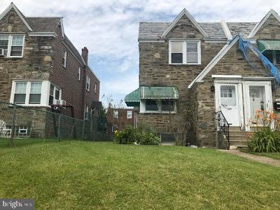 Philadelphia County Single Family Home For Sale: 1225 Knorr Street