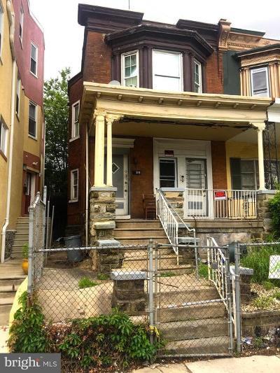 Philadelphia Single Family Home For Sale: 5119 Baltimore Avenue