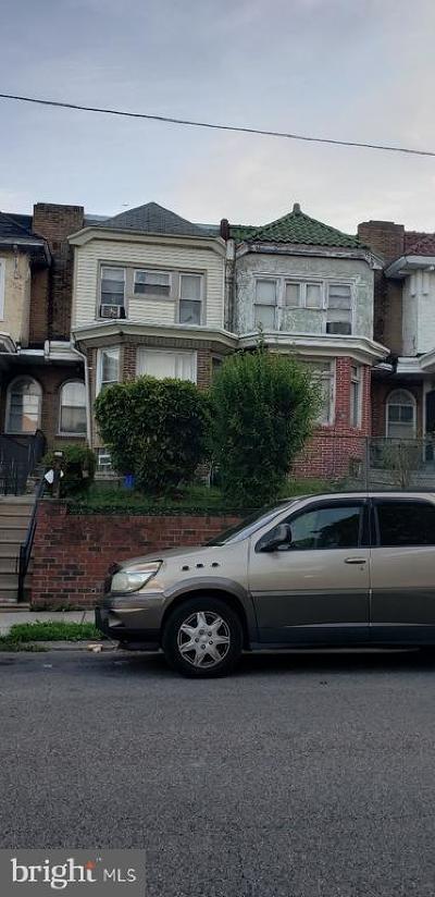 Philadelphia PA Townhouse For Sale: $119,900
