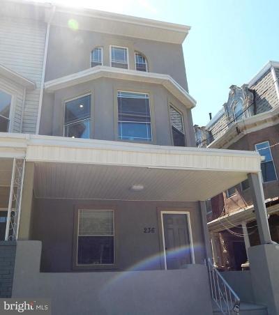 Philadelphia Single Family Home For Sale: 236 W Manheim Street