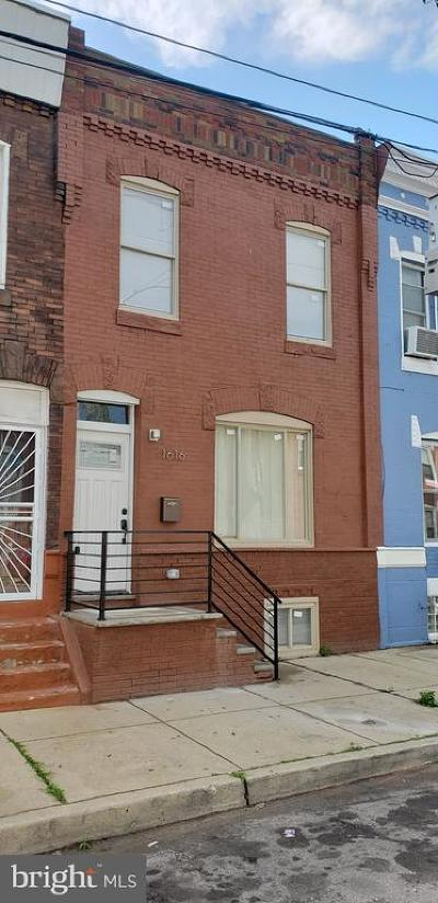 Point Breeze Townhouse For Sale: 1616 S 24th Street