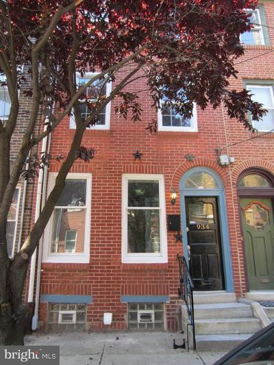 Queen Village Townhouse For Sale: 934 2nd Street S
