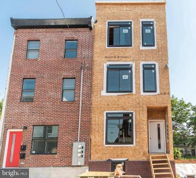 Philadelphia Single Family Home For Sale: 2409 W Thompson Street #UNIT 3
