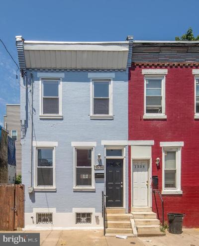Point Breeze Townhouse For Sale: 1536 S Capitol Street