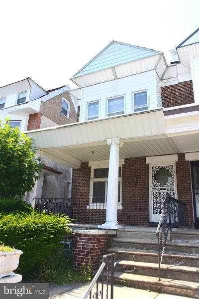 Philadelphia Single Family Home For Sale