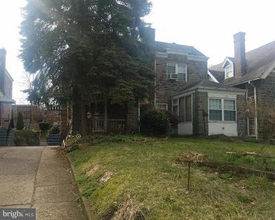Overbrook Single Family Home Active Under Contract: 5970 Woodbine Avenue