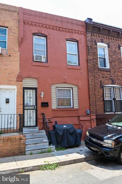 Point Breeze Townhouse For Sale: 1515 S Taney Street