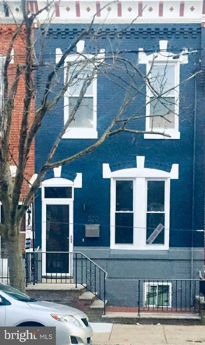 Philadelphia Townhouse For Sale: 520 Moore Street