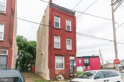 Philadelphia Single Family Home For Sale: 2742 W Glenwood Avenue