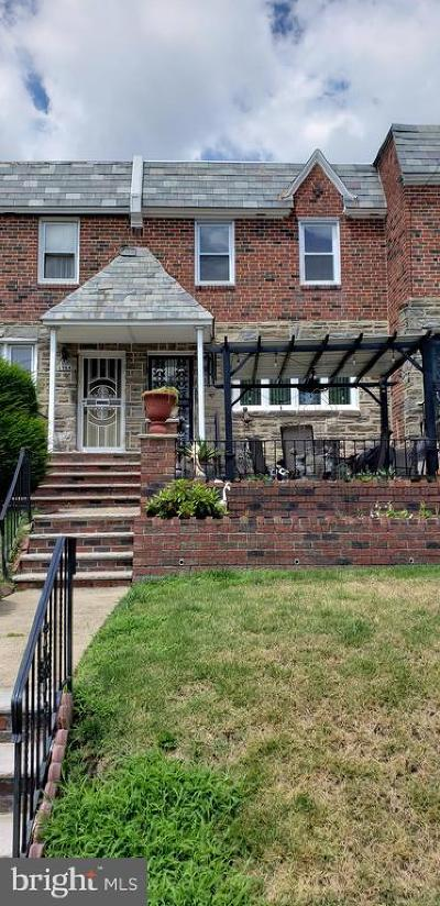 Philadelphia County Townhouse For Sale: 6346 Crescentville Road