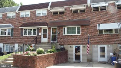 Philadelphia County Townhouse For Sale: 12662 Friar Place