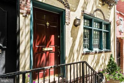 Rittenhouse Square Townhouse For Sale: 343 S Smedley Street