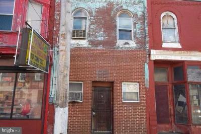 Philadelphia County Townhouse For Sale: 3026 W York Street