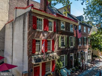 Philadelphia Townhouse For Sale: 139 Elfreths Alley