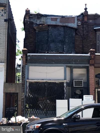 Philadelphia Multi Family Home For Sale: 5118 Market Street