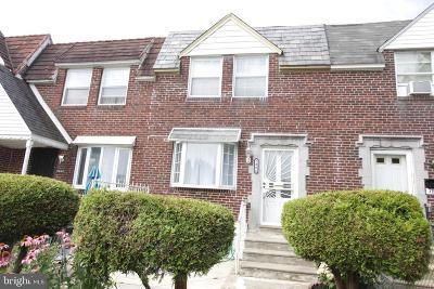 Philadelphia Townhouse For Sale: 7804 Williams Avenue