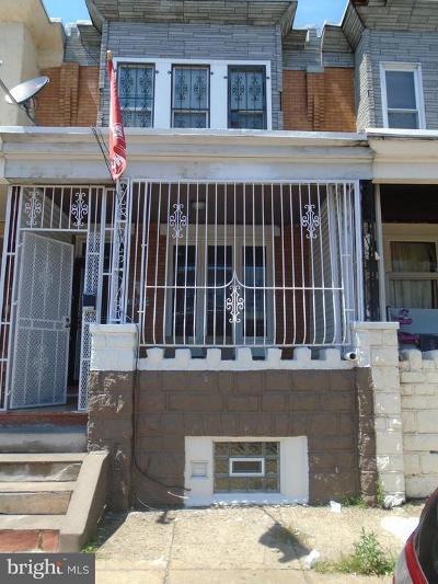 Philadelphia County Townhouse For Sale: 3352 Emerald Street