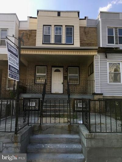 University City Townhouse For Sale: 5233 Pentridge Street
