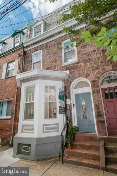 Philadelphia Townhouse For Sale: 2212 Fitzwater Street