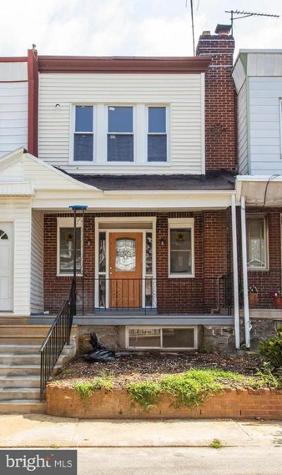 Philadelphia Townhouse For Sale: 1621 S Wilton Street