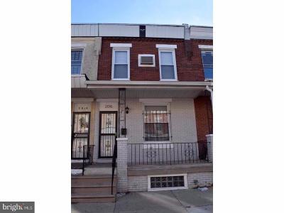 Philadelphia County Townhouse For Sale: 2016 S Simpson Street