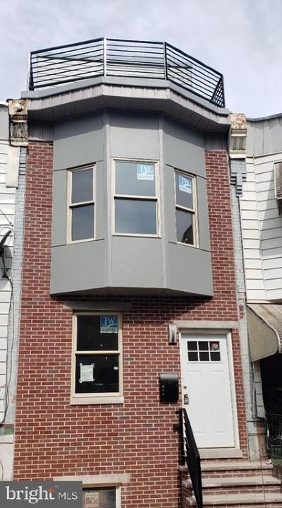 Point Breeze Townhouse For Sale: 1316 S Ringgold Street