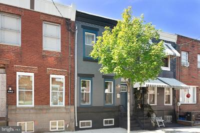 Point Breeze Townhouse For Sale: 2044 Sigel Street