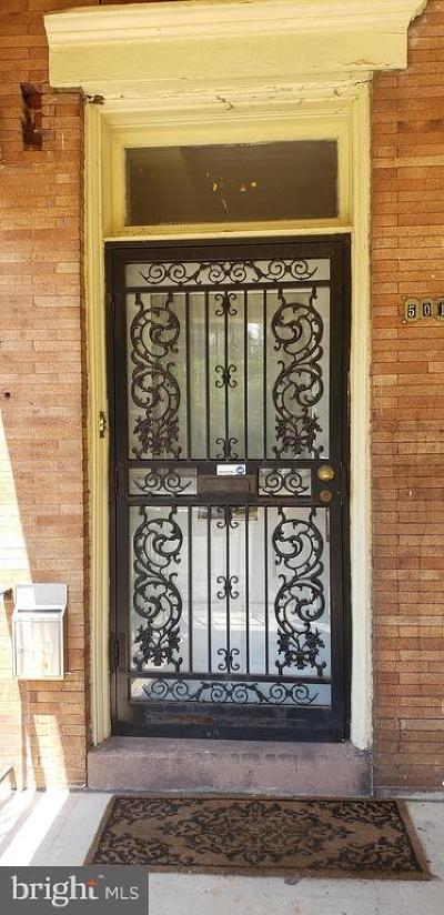 Philadelphia Single Family Home For Sale: 5011 Cedar Avenue