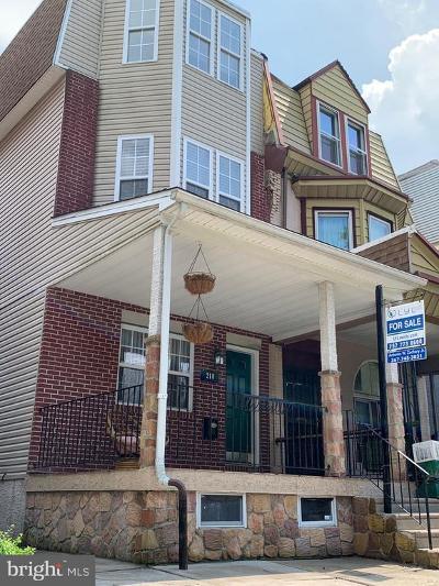Philadelphia Single Family Home For Sale: 218 E Johnson Street